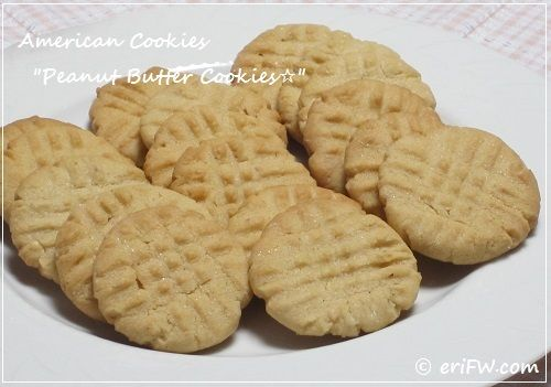 peanut butter cookiesの画像