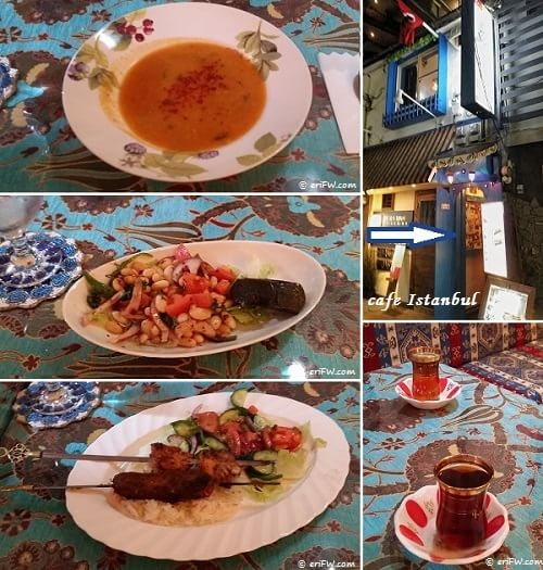 cafe Istanbulディナーの画像